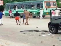 तमिलनाडु में आंबेडकर की प्रतिमाएं टूटीः शहर में बवाल, सरकारी बसों पर पथराव,दोनों गुटों के 58 लोगों को पकड़ा