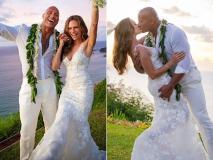 हॉलीवुड स्टार ड्वेन जॉनसन ने 11 साल बाद गर्लफ्रेंड से रचाई शादी, देखें Photos