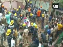गुजरातः अहमदाबाद के अमराईवाड़ी इलाके में भर-भराकर गिरी तीन मंजिला इमारत, तीन लोगों की मौत