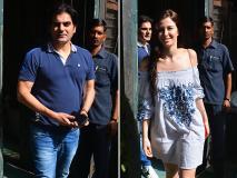 गर्लफ्रेंड संग स्पॉट हुए अरबाज खान, बेटे अरहान भी थे साथ