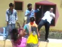नेता की संवेदनहीनता, महिला के सीने पर मारी लात, वायरल हुआ वीडियो