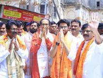 शिवसेना प्रमुख उद्धव ठाकरे ने कहा- 'लोकसभा में 350 सांसद, अब बीजेपी को राम मंदिर बनाना चाहिए'