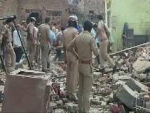 उत्तर प्रदेश: एटा में पटाखा फैक्ट्री में भीषण धमाका, आधा दर्जन लोगों की मौत, कई घायल