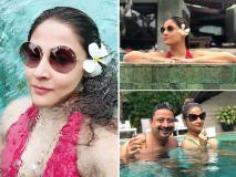 बर्थडे सेलिब्रेशन के बाली पहुंची उर्वशी ढोलकिया, देखें तस्वीरें