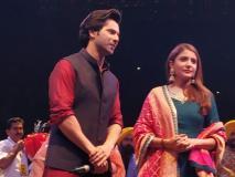 अनुष्का शर्मा और वरुण धवन ने दिल्ली में मनाया 'सद्भावना दिवस 2018'