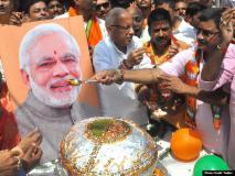 वाराणसी में पीएम नरेंद्र मोदी के जन्मदिन की अनुपम छटा, तस्वीरों में देखिए जश्न की झाकियां