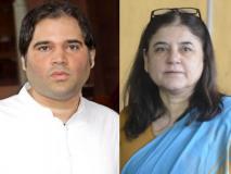 लोकसभा चुनाव 2019: करनाल से चुनाव लड़ना चाहती थीं मेनका, शीर्ष नेतृत्व के मनाही के बाद बेटे वरुण से बदली सीट