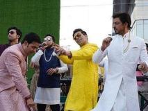 Video आकाश-श्लोका की शादी में बाराती बनकर नाचे शाहरुख-रणबीर, हार्दिक पांडया ने करण संग लगाया ठुमका