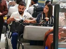 फ्लॉरिडा पहुंची टीम इंडिया, मियामी एयरपोर्ट पर विराट कोहली संग नजर आईं अनुष्का