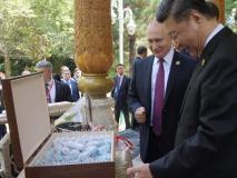 जन्मदिन पर शी को आइसक्रीम का डिब्बा भेंट कर बोले रूसी राष्ट्रपति- मुझे खुशी है, आप जैसी शख्सियत मेरा दोस्त है