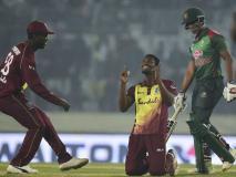 इविन लुईस की 36 गेंदों में 89 रन की तूफानी पारी, वेस्टइंडीज ने तीसरे टी20 में बांग्लादेश को हरा जीती सीरीज