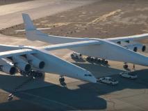 दुनिया के सबसे विशाल विमान ने कैलिफोर्निया से भरी उड़ान