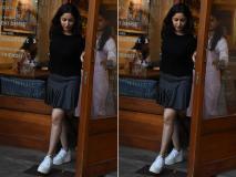 ब्लैक शॉर्ट स्कर्ट और टॉप में लंच के बाद दिखीं यामी गौतम, देखें ताजा तस्वीरें