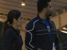 जहीर खान अपनी पत्नी के साथ मॉनसून मैराथन चैलेंज में आए नजर