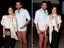 जहीर खान अपनी पत्नी सागरिका घटगे के साथ जुहू में आए नजर, तस्वीरों में देखें खास अंदाज