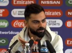 CWC 2019, IND vs PAK: भारत-पाक मैच से पहले क्या बोले कप्तान विराट कोहली, देखें वीडियो