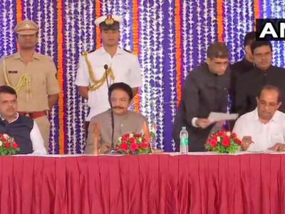महाराष्ट्र कैबिनेट विस्तार: पूर्व कांग्रेस नेता और नेता विपक्ष राधाकृष्ण विखे पाटिल को फडणवीस ने बनाया मंत्री