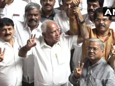 अब कर्नाटक में भी भाजपा सरकार, येदियुरप्पा के राज्य के नए मुख्यमंत्री बनने की संभावना!