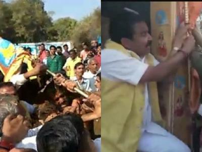 मध्य प्रदेश: एकात्म ध्वज यात्रा में भाजपा विधायक की कार्यकर्ताओं ने की पिटाई