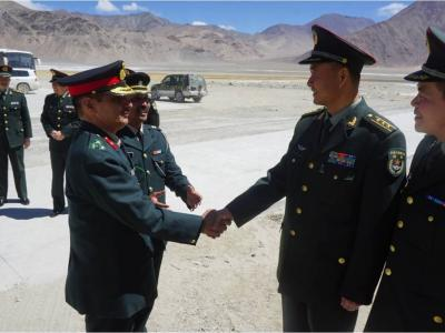LAC पर जारी तनाव के बीच आज छठी बार चीन व भारत के बीच होगी कमांडर स्तर की बातचीत