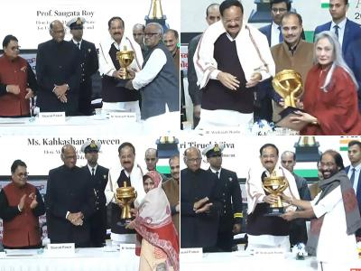 Lokmat Parliamentary Awards 2019: मुलायम और मनमोहन सिंह को लाइफ टाइम अचीवमेंट अवॉर्ड, जानें किस नेता को मिला कौन सा खिताब