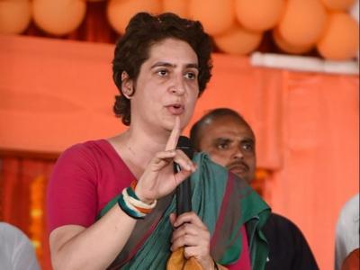 लोकसभा चुनाव 2019: प्रियंका गांधी का पीएम मोदी पर तंज, कहा- 'चौकीदार हैं या दिल्ली से पधारे शहंशाह'