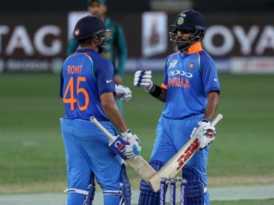 Asia Cup, Ind Vs Pak: धवन-रोहित के शतक की बदौलत भारत की पाकिस्तान पर सबसे बड़ी जीत