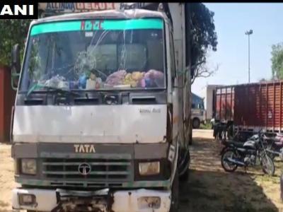 गुरूग्राम में लॉकडाउन के दौरान सब्जी लेकर जा रहे ट्रक ने सड़क पर पैदल जा रहे कुछ लोगों को कुचला, महिला समेत 5 की मौत