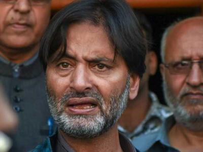 कश्मीर में यासीन मलिक की JKLF पर मोदी सरकार ने लगाया बैन, गृह सचिव राजीव गौबा ने बताई वजह