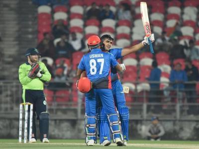 T20 में अफगानिस्तान ने सर्वाधिक रन बना रचा इतिहास, हजरतुल्लाह जजई ने ठोके नाबाद 162 रन