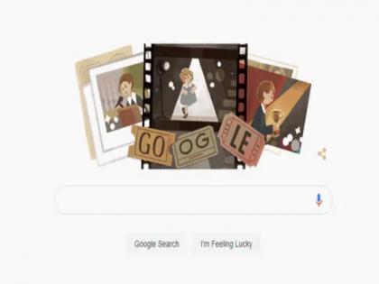 google doodle honours miss little miracle shirley temple   Google Doodle: गूगल ने डूडल के जरिए 'मिस लिटिल मिरेकल' शिर्ले टेंपल को किया याद, जानिए इनके बारे में