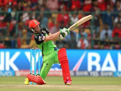 IPL 2021RCB AB de Villiers smashes 46-ball 104 runs 10 sixes 7 foursintra-squad practice match | IPL 2021:एबी डिविलियर्स ने किया छक्कों की बरसात, 46 गेंद और 104 रन, 7 चौके उड़ाए, देखें वीडियो