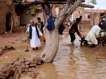 Afghanistan Floods kill 150Taliban say havoc in areas under its control100 homes affected   अफगानिस्तान में बाढ़ से150 मरे,तालिबान ने कहा-उसके नियंत्रण वाले इलाकों में कहर,100 घर प्रभावित