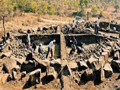 Nagpur Gorewada Zoo Archaeological theme park project 3000 year old skeleton not safe | नागपुर: सुरक्षित नहीं 3000 साल पुराने कंकाल, खटाई में आर्कियोलॉजिक थीम पार्क परियोजना