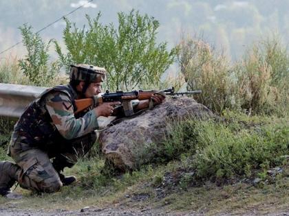 SrinagarNowgam Wagura Terrorist killedone abscondingsearch continues army jammu kashmir   श्रीनगर के नौगाम वागूरा में आतंकी ढेर,एक फरार,तलाश जारी