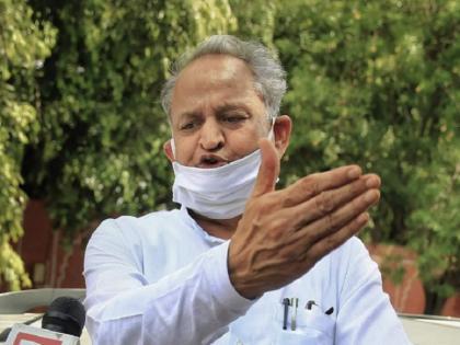 Rajasthan CM Ashok Gehlot Seeks CBI, ED Raids Against Union Minister Gajendra Shekhawat | गहलोत का निशाना, CBI और ED को केंद्रीय मंत्री शेखावत के खिलाफ छापेमारी करनी चाहिये थी न कि हम लोगों के खिलाफ