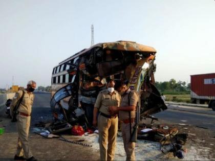 Uttar Pradesh Barabanki road accident almost 18 Dead after truck hits bus | उत्तर प्रदेश के बाराबंकी में भीषण सड़क हादसा, ट्रक ने बिहार जा रही बस को मारी टक्कर, 18 लोगों की मौत