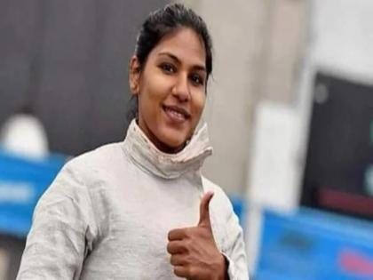Tokyo Olympic 2020 bhavani devi wins indias 1 st ever fancing match in olympic history beats tunisias ben azizi | Tokyo Olympic 2020 : भवानी देवी ने ओलंपिक में रचा इतिहास, भारत की ओर से जीता पहला फेंसिंग मैच