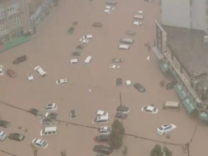 China: Heaviest rain in last 1000 years, People said getting punished for the misdeeds of Corona | चीन में पिछले 1000 सालों में सबसे भीषण बारिश के कारण मचा हाहाकार, लोगों ने कहा-कोरोना के कुकर्मों की मिल रही सजा