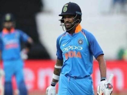 SL vs IND, 3rd T20IShikhar Dhawan becomes first Indian captain to register golden duck in T20Is | शिखर धवन ने बनाया शर्मनाक रिकॉर्ड, टी-20 मेंगोल्डन डक पर आउट होने वाले पहलेभारतीय कप्तान