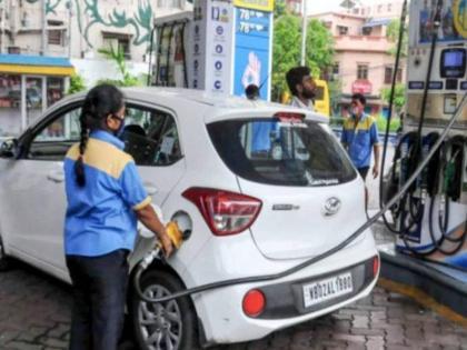 petrol price today crosses rs 103 in mumbai highest ever above rs 100 in 7 states   Petrol-Diesel Price: पेट्रोल के दाम ने 7 राज्यों में लगया 'शतक', मुंबई में कीमत 103 रुपये के पार