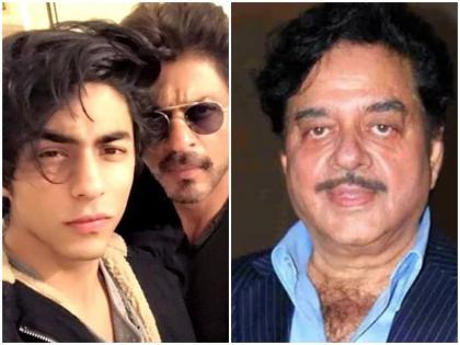 aryan drugs case shatrughan sinha said It is because of Shah rukh khan that his son is being targeted   गोदी मीडिया की तरह यहां गोदी कलाकार हैं; आर्यन ड्रग्स मामले में बॉलीवुड की चुप्पी पर भड़के शत्रुघ्न सिन्हा
