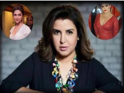 that is why Farah Khan likes rakhi sawant to Deepika Padukone   इसलिए फराह खान को पसंद हैं राखी सावंत, दीपिका पादुकोण से तुलना में कही ये बात