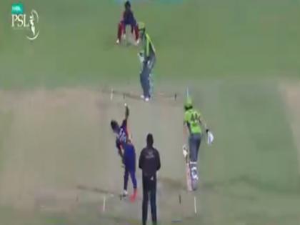 Karachi Kings vs Lahore Qalandars James Faulkner hit back to back three sixes video viral | PSL 2021: जेम्स फॉकनर की धमाकेदार बल्लेबाजी, जड़ दिए लगातार तीन छक्के, फिर भी टीम को मिली हार