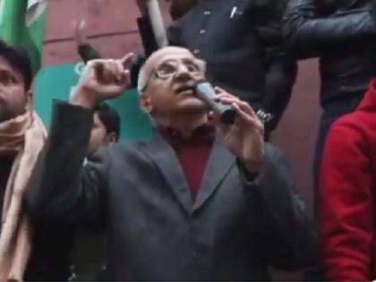 Harsh Mander Viral Video anti caa speech at jamia 16 december supreme court   Harsh Mander Viral Video: हर्ष मंदर के भाषण को बीजेपी ने बताया हेट स्पीच, BJP आईटी सेल प्रमुख ने शेयर किया वीडियो, जानें इस विवाद का पूरा सच