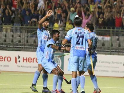 Tokyo Olympics: Indian men's hockey team won and proceeds to semifinals, beat Britain 3-1 in quarter finals | टोक्यो ओलंपिकः भारतीय हॉकी टीम चार दशक बाद सेमीफाइनल में पहुंची, ब्रिटेन को 3-1 से रौंदा, अब विश्व चैंपियन से होगा मुकाबला