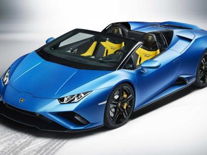 Lamborghini Huracan EVO RWD Spyder Launched In India At Rs 3-54 Crorespeeds up to 100km in 3-5 second | लैम्बॉर्गिनी नेहुराकन ईवीओ रियल व्हील ड्राइव स्पाइडर उतारी, कीमत 3.54 करोड़,3.5 सेकंड में 100km की रफ्तार, जानें खासियत