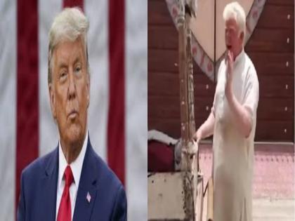 watch the internet found a donald trump look alike in pakistan funny video goes viral   पाकिस्तान में डोनाल्ड ट्रंप के हमशक्ल को देख लोग हुए हैरान, कुल्फी बेचता नजर आया शख्स, देखें वीडियो