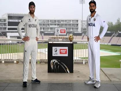 India vs New Zealand WTC Final toss delay for heavy rain | Ind vs NZ: साउथम्प्टन में झमाझम बारिश, टॉस में देरी, दिन का पहला सेशन रद्द