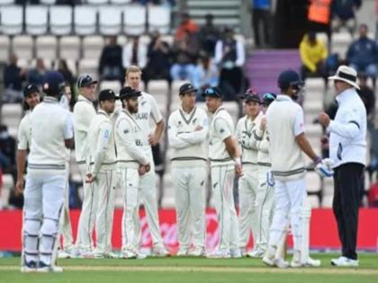 India vs New Zealand Final Day 3 virat kohli and team all out just 217 run   Ind vs NZ: काइल जैमीसन ने बरपाया कहर, झटके पांच विकेट, 217 रनों पर सिमटी भारतीय पारी